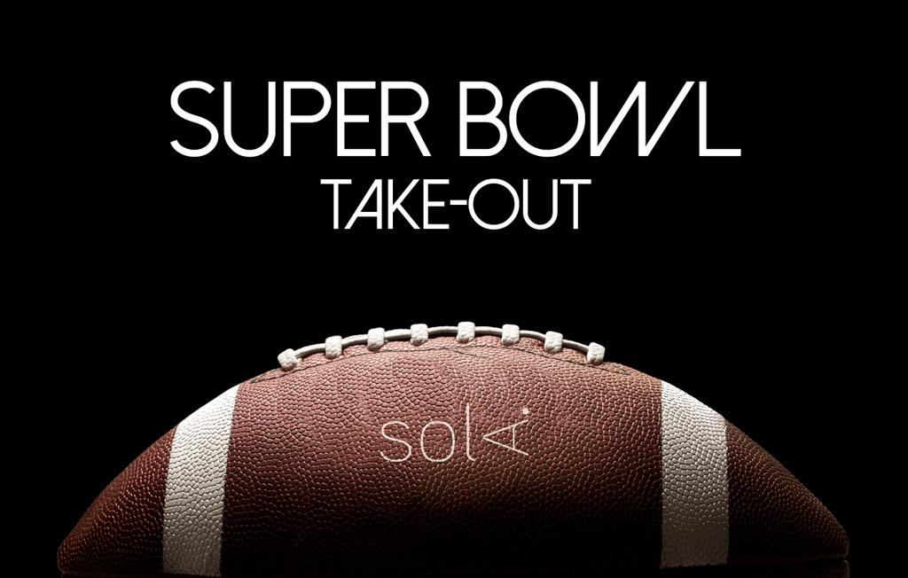 Super Bowl Take-Out