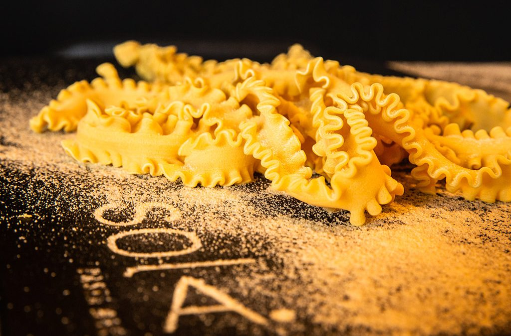 Happiness and Homemade pasta